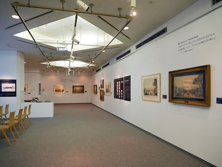 横浜美術館30周年記念「絵でたどるペリー来航」展