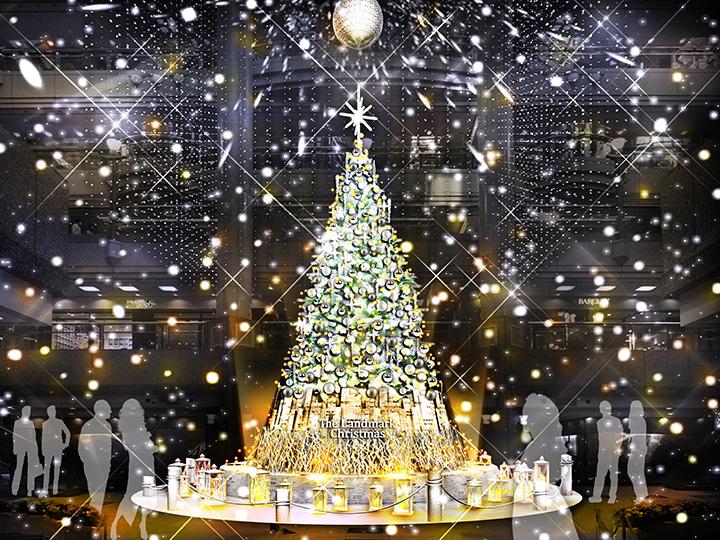 ランドマークプラザ「The Landmark Christmas2019」ツリーイメージ