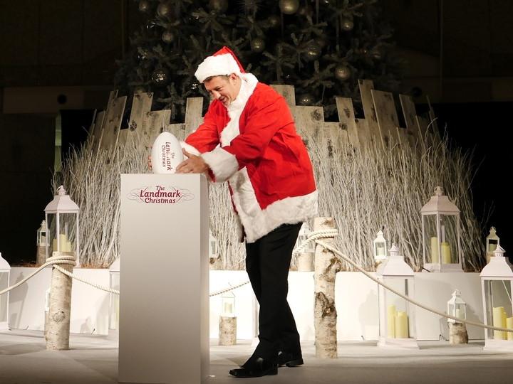 ランドマークプラザ クリスマスツリー 点灯式 2019年