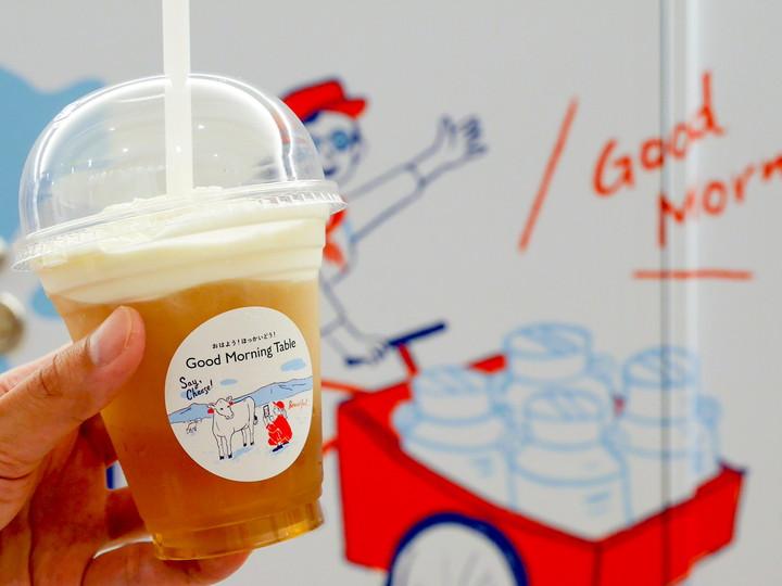 グッドモーニングテーブル 横浜高島屋 生クリームコーン茶