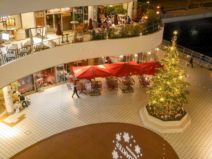 横浜ベイクォーター クリスマスイベント
