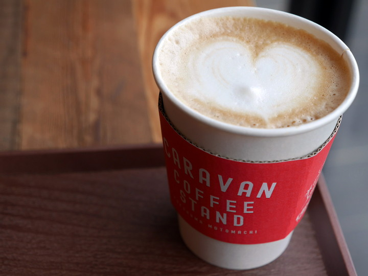 キャラバンコーヒースタンド カフェラテ