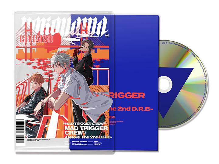 ヒプノシスマイク「MAD TRIGGER CREW -Before The 2nd D.R.B-」CDジャケット
