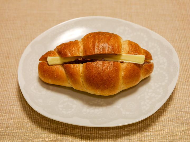 塩バターパンのあんバター