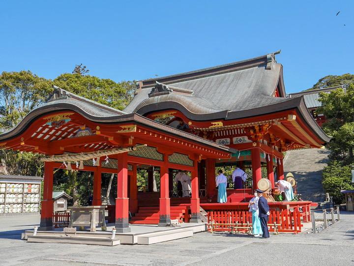 鎌倉・鶴岡八幡宮 舞殿