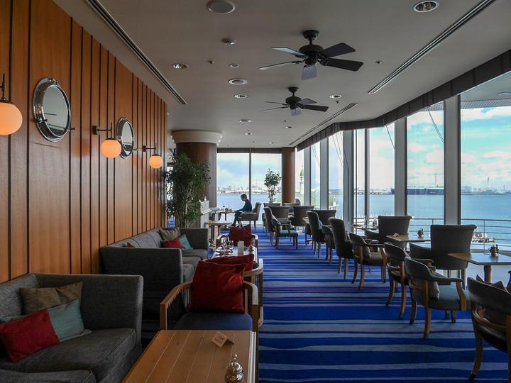 ヨコハマ グランド インターコンチネンタル ホテル ラウンジ&バー「マリンブルー」