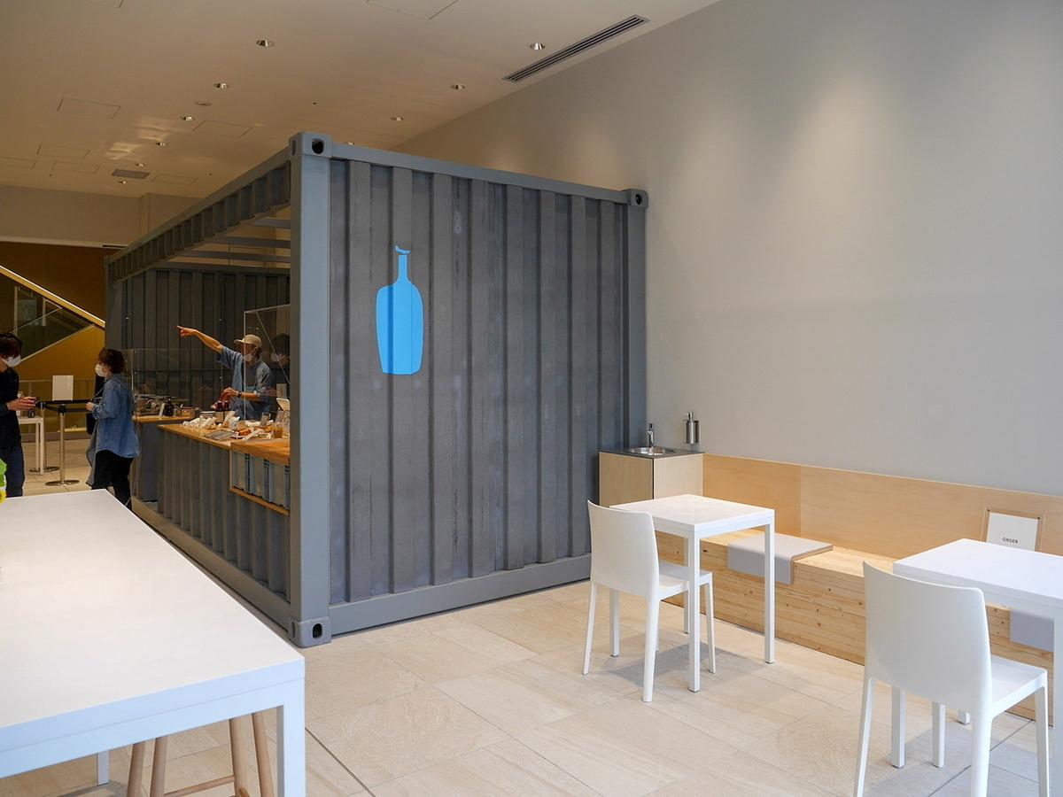 ブルーボトルコーヒー 期間限定POP-UPカフェスペース(2020年6月24日撮影)
