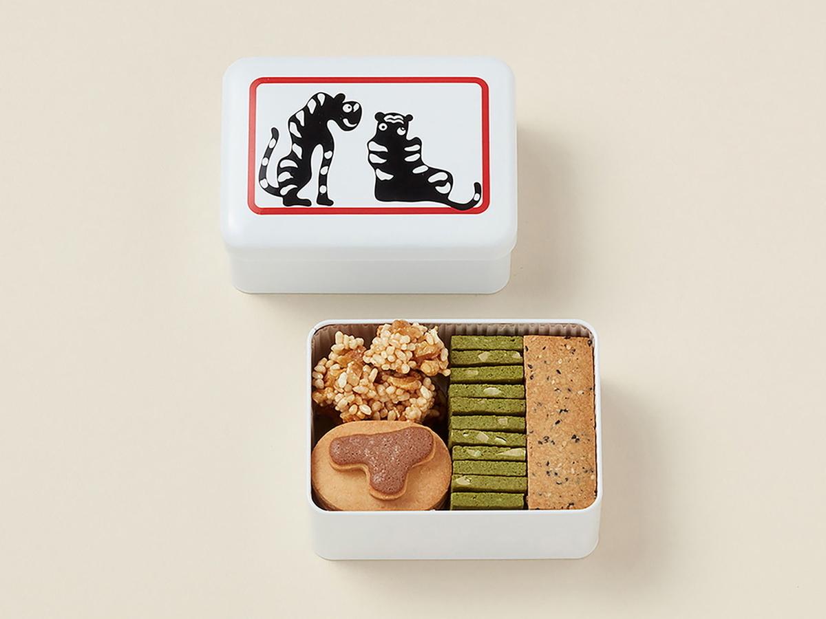 あんクッキー缶(画像提供:トラヤカフェ)