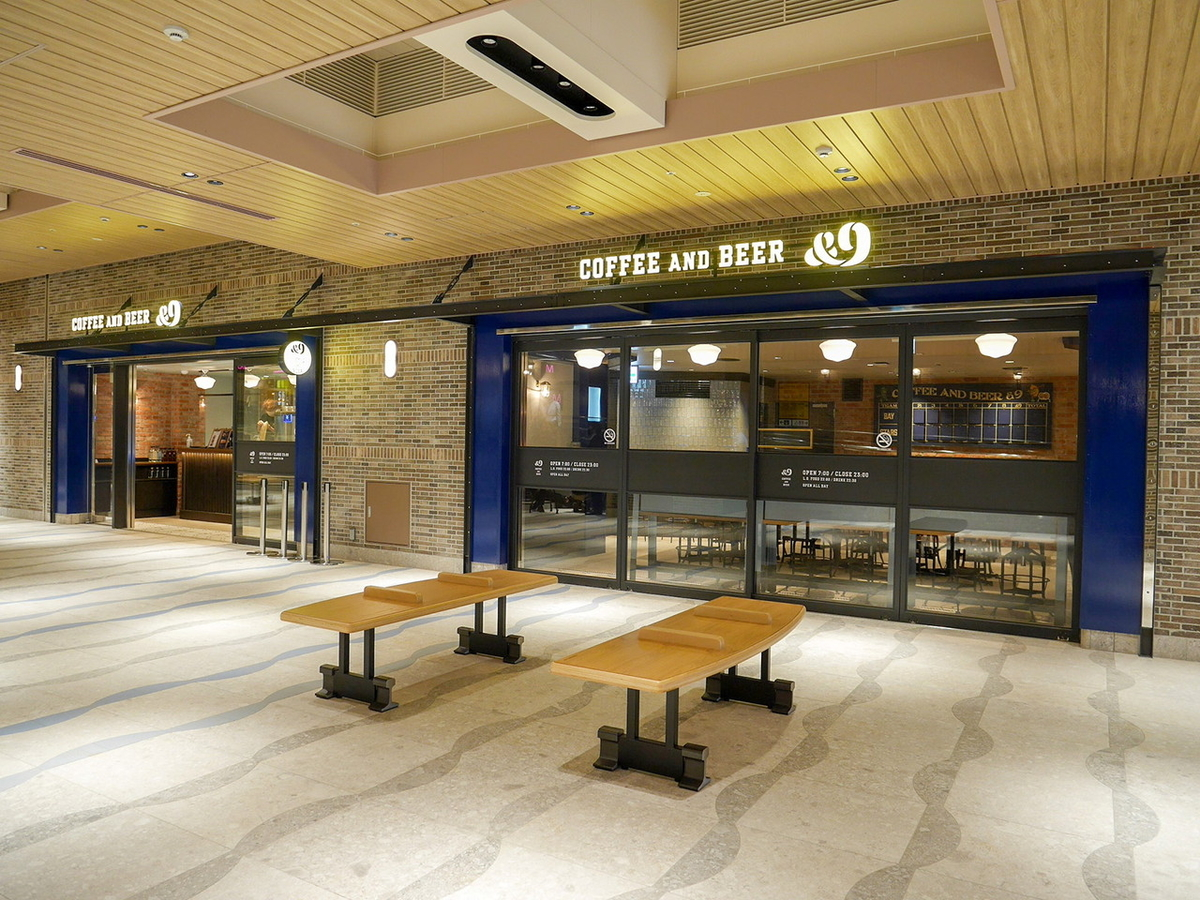 COFFEE AND BEER &9(アンド・ナイン)入口