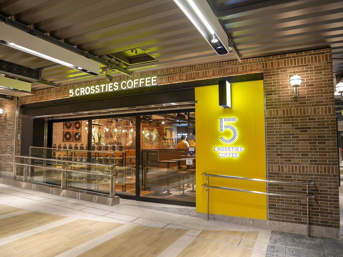 5 CROSSTIES COFFEE(ファイブクロスティーズコーヒー)入口