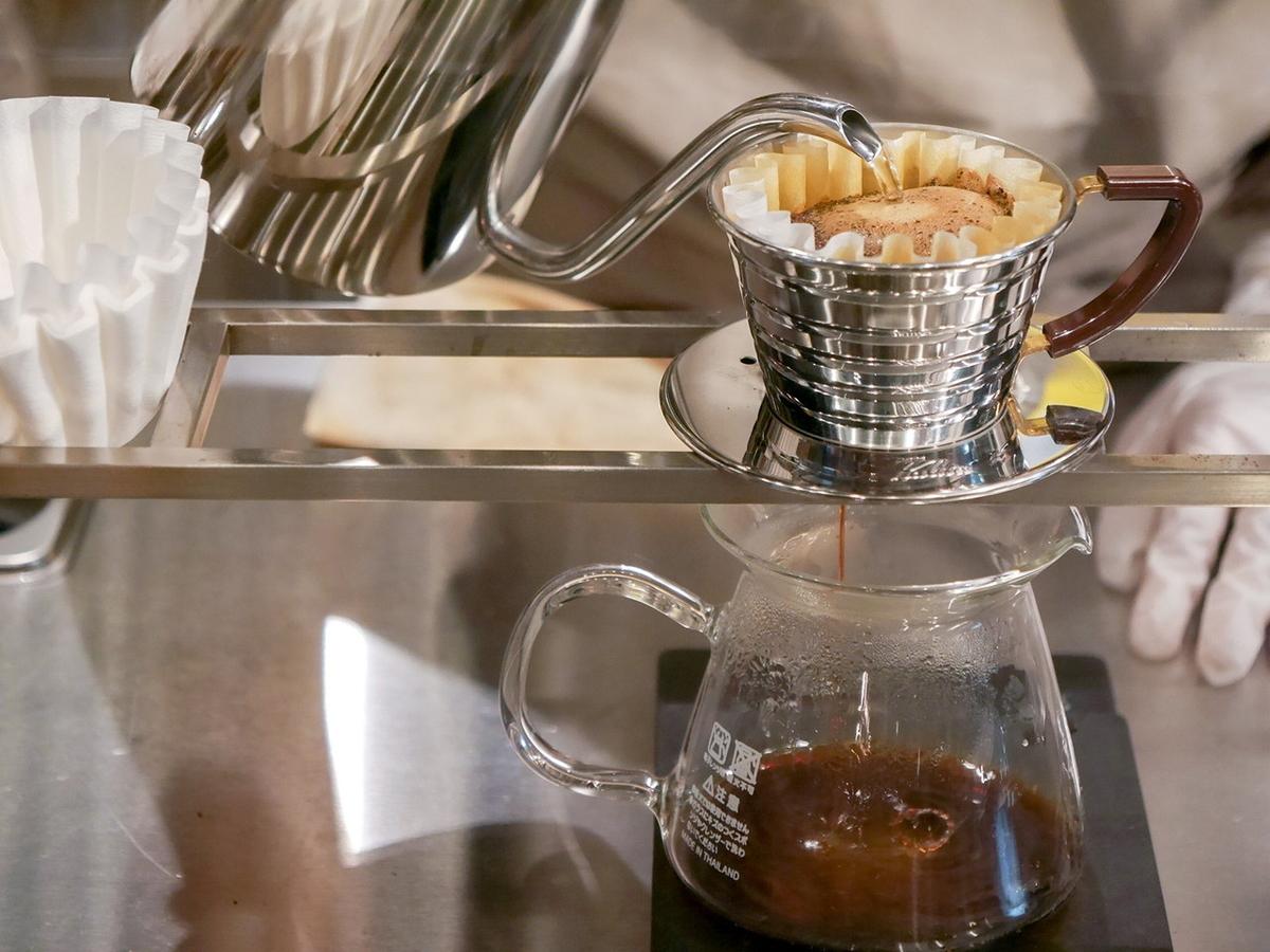 5 CROSSTIES COFFEE エキュートエディション横浜店 ハンドドリップコーヒー