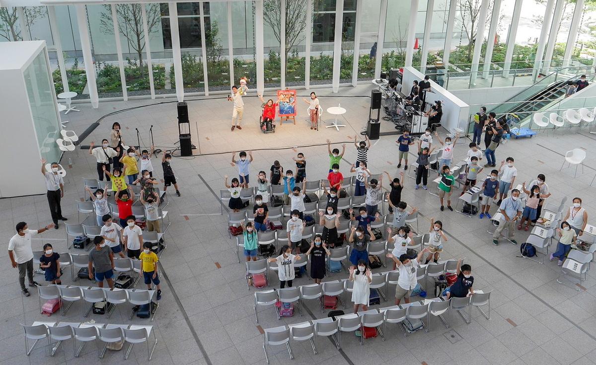 横浜市立みなとみらい本町小学校 5年生の皆さんとのフォトセッション(2020年8月24日撮影)