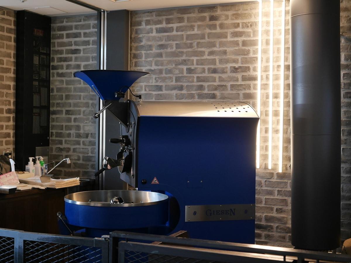 オランダ ギーセン社 焙煎機