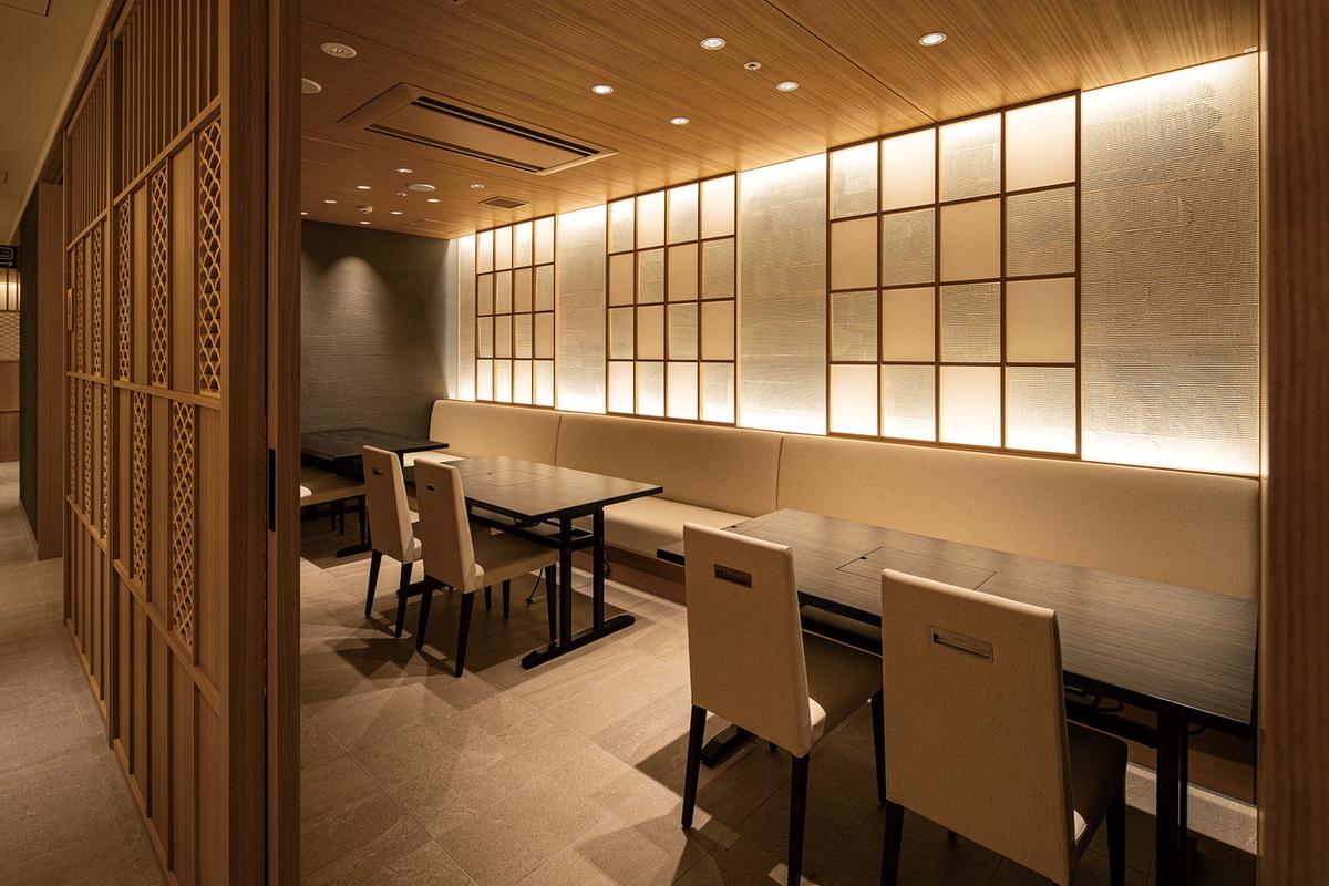 日本料理ぎん 個室
