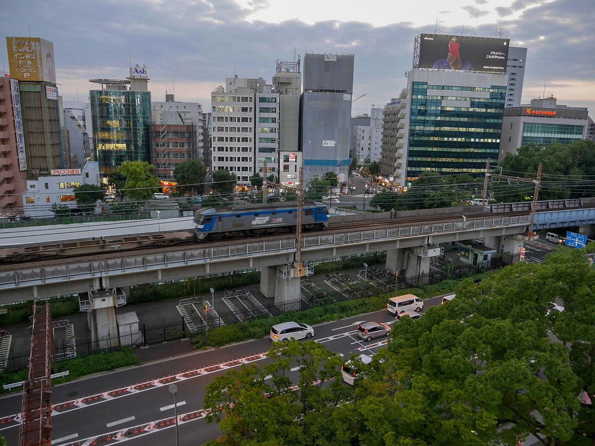横浜スタジアム レフトウイング席 デッキからの眺め