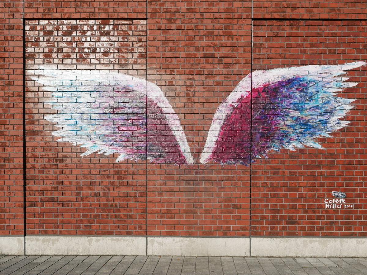 MARINE & WALK YOKOHAMA(マリンアンドウォーク ヨコハマ)フォトスポット《天使の羽(エンジェルウィングス)》