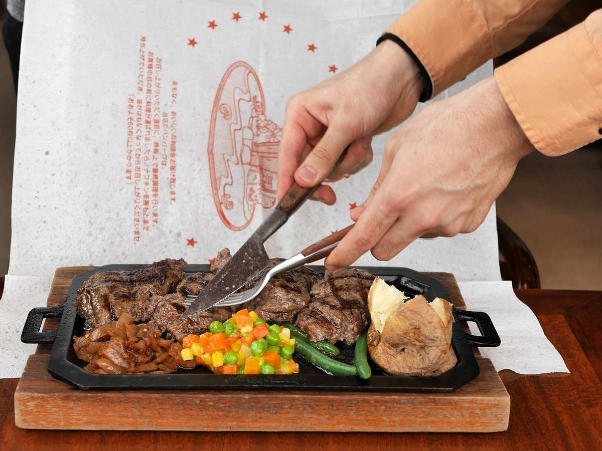 ハングリータイガー オリジナルハンバーグステーキ