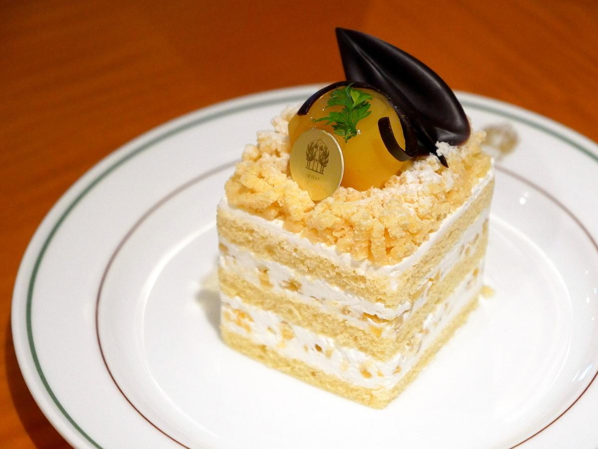 和栗のショートケーキ(1188円税込、サ料別)