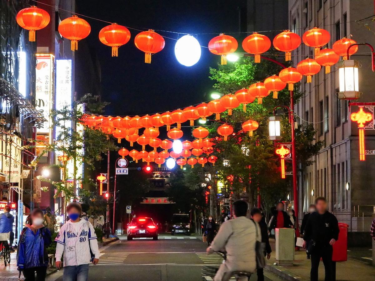 横浜中華街 春節燈花2021
