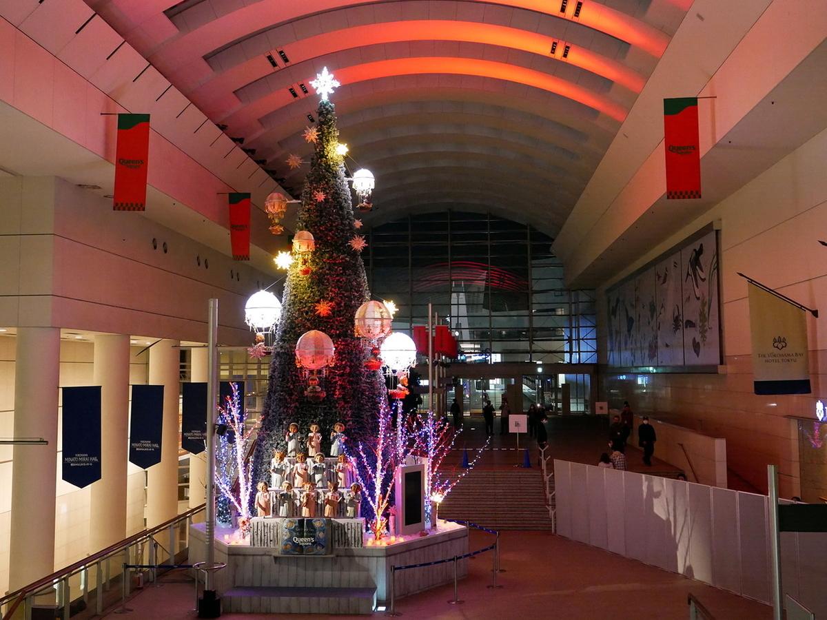 クイーンズスクエア横浜 One World Tree~世界は夜空でつながってる~