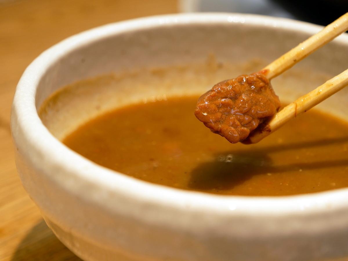 鰹だし薫る アンガスビーフカレーつけ麺 つけダレ