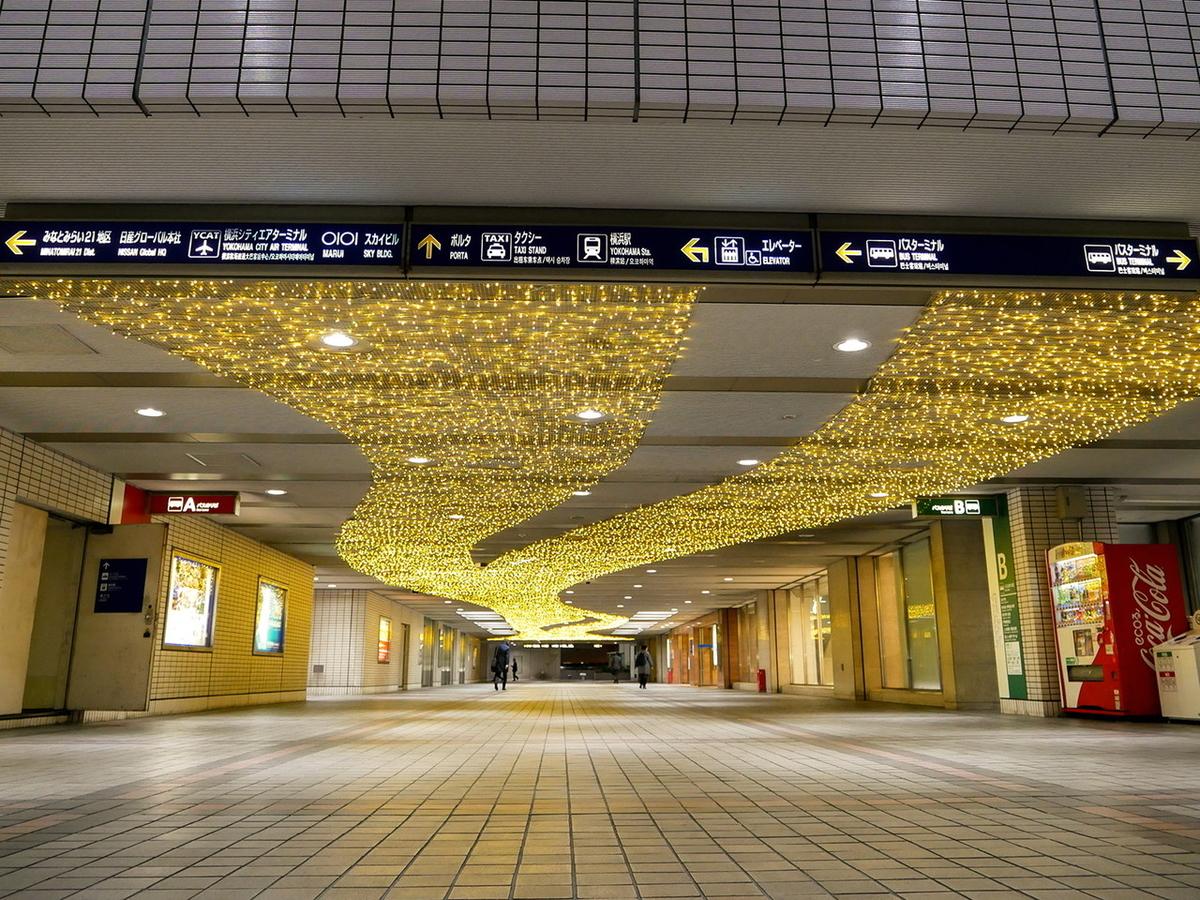 ヨコハマミライト 2020  横浜駅東口