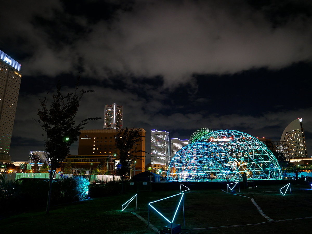 ヨルノヨ‐YOKOHAMA CROSS NIGHT ILLUMINATION‐