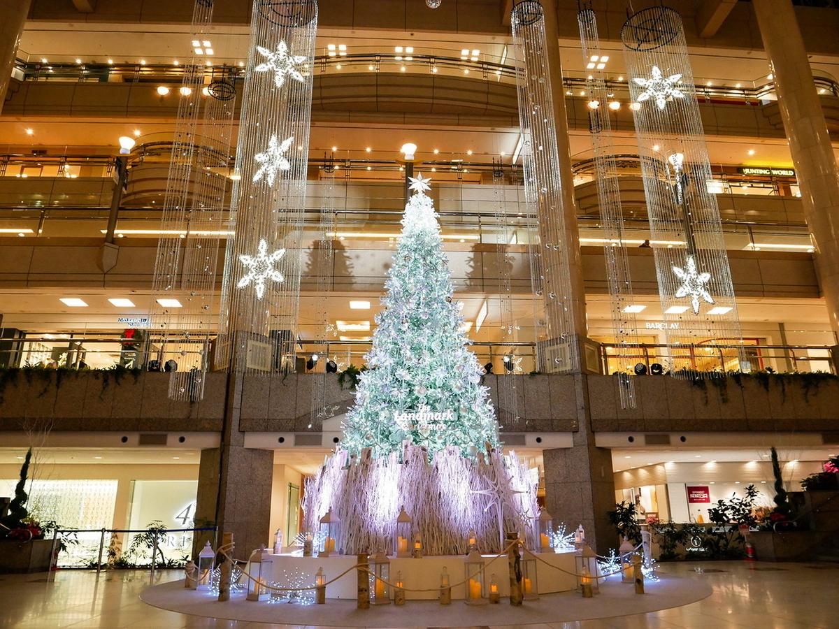 ランドマークプラザ クリスマスツリー2020年