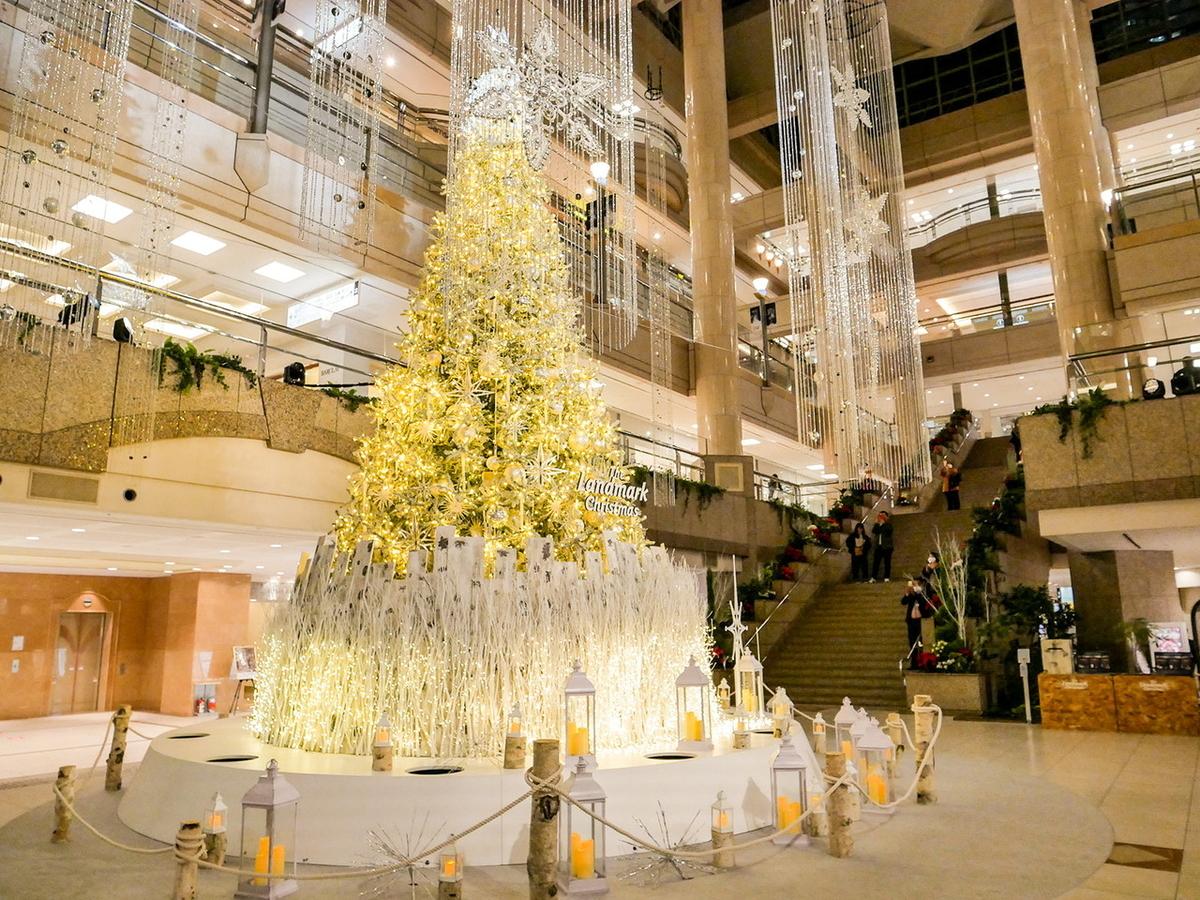 ランドマークプラザ クリスマスツリー 2020年