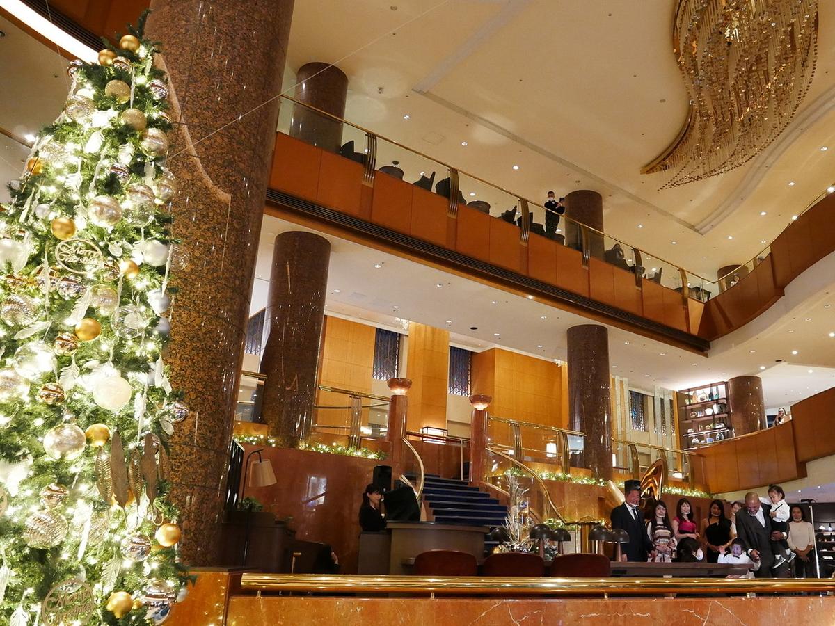横浜ベイシェラトン ホテル&タワーズ クリスマスツリー点灯式2020年