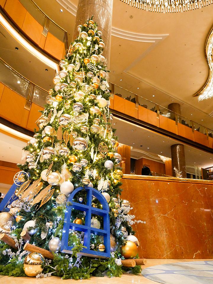 横浜ベイシェラトン ホテル&タワーズ クリスマスツリー 2020年