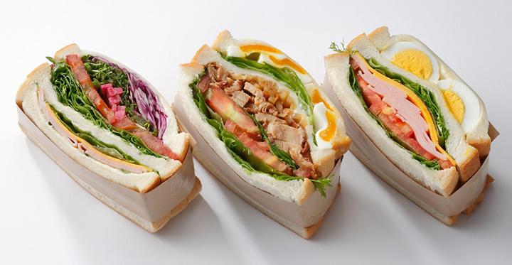 パンコーナー サンドイッチ