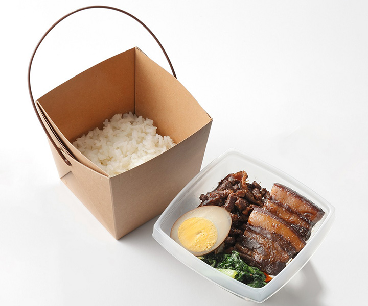 皇朝(こうちょう)ルーロー飯(648円)