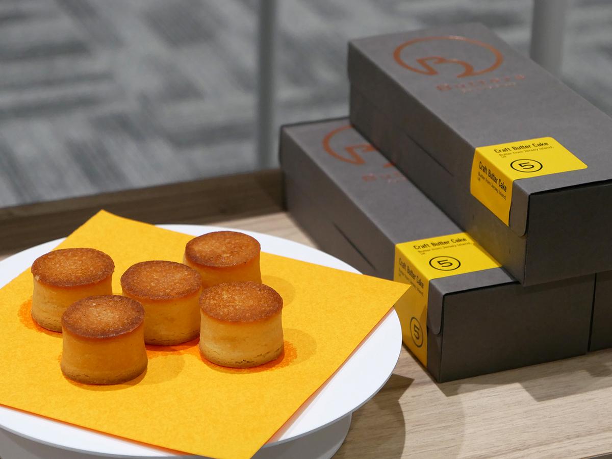 Butters(バターズ)「クラフトバターケーキ(5個入、1458円)」