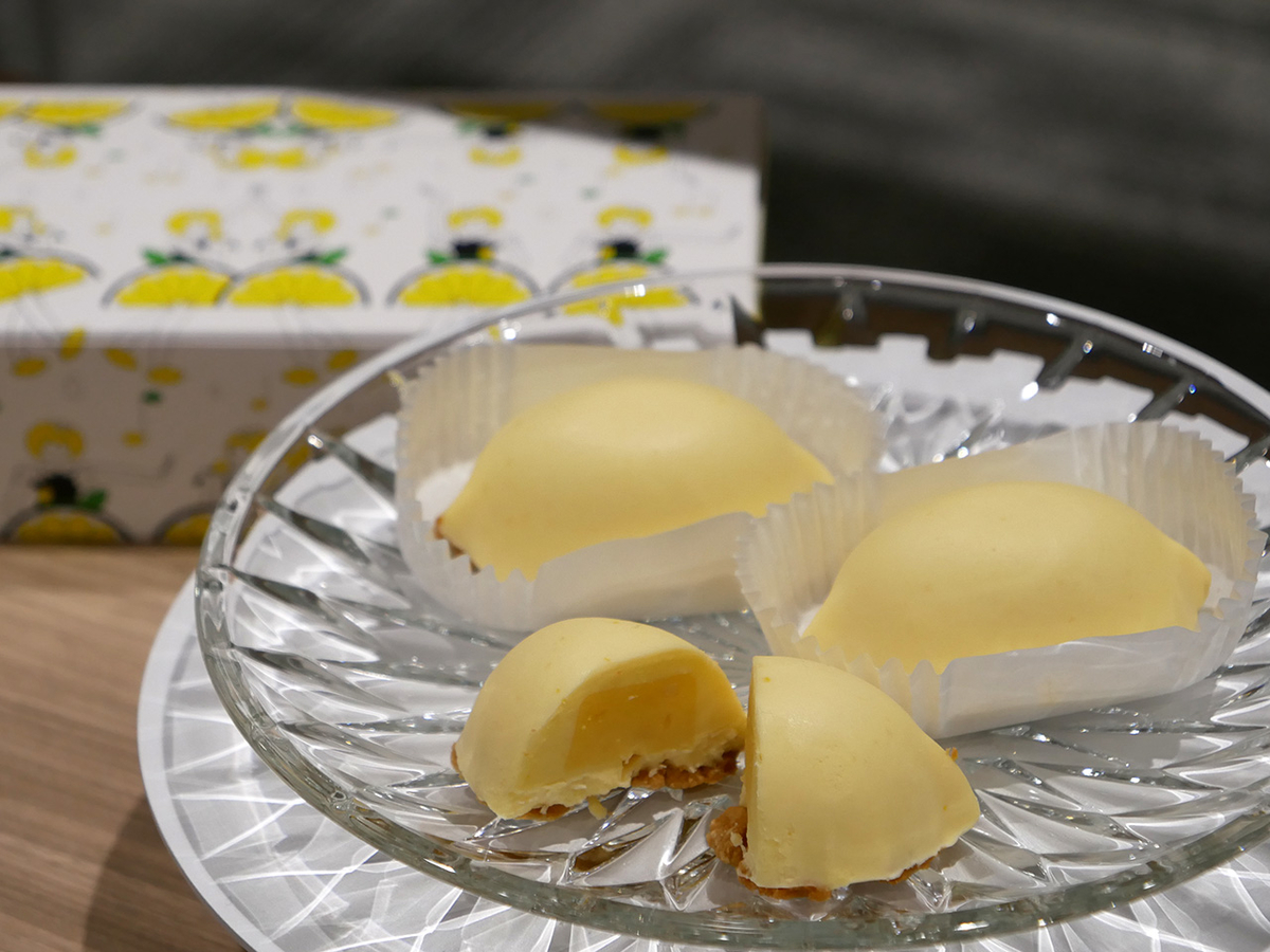 FRANÇAIS(フランセ)「<生>レモンケーキ(3個入、1296円)」
