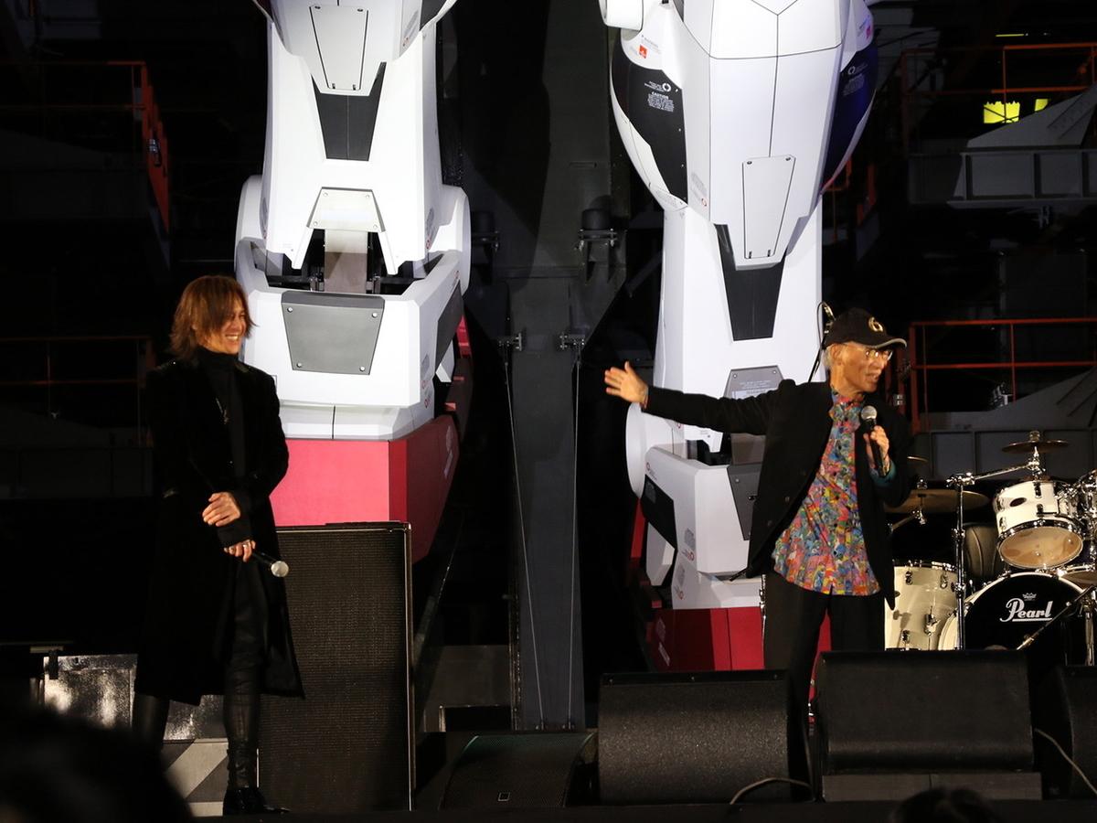 SUGIZOさん 富野総監督