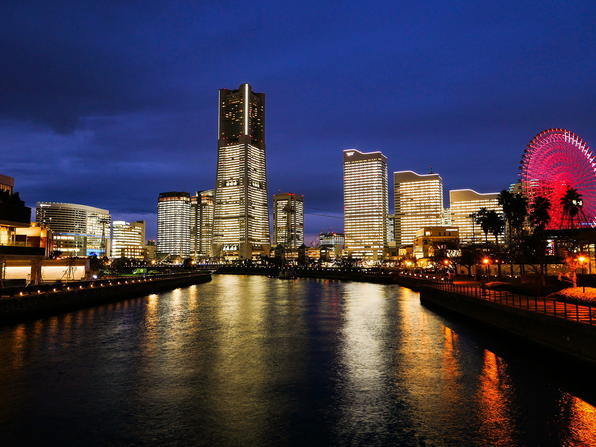 TOWERS Milight~みなとみらい21 オフィス全館ライトアップ~2020年