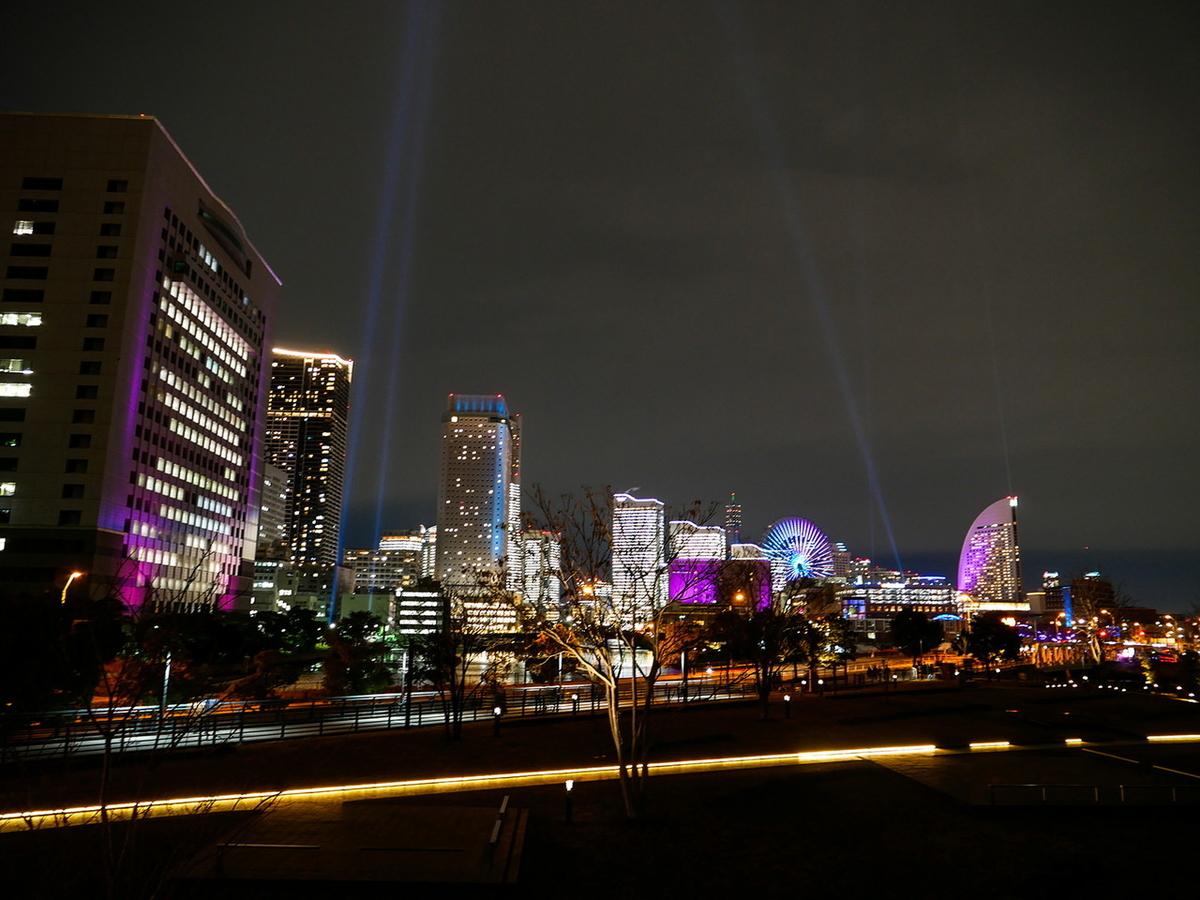 イルミネーションイベント「ヨルノヨ‐YOKOHAMA CROSS NIGHT ILLUMINATION‐」