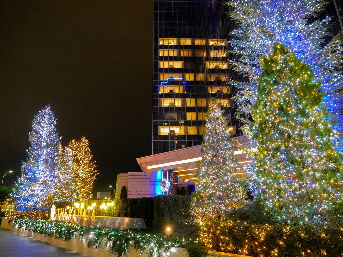 カハラホテルのイルミネーションがキレイでした!(2020年12月24日撮影)