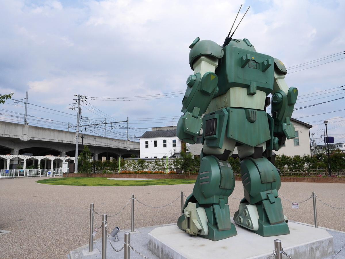 ドッグ 実物 大 スコープ 稲城に「実物大ロボ」 アニメ「ボトムズ」