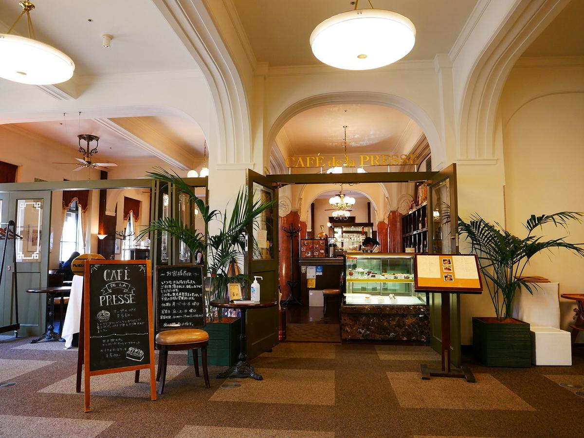 CAFE de la PRESSE(カフェ ドゥ ラ プレス)