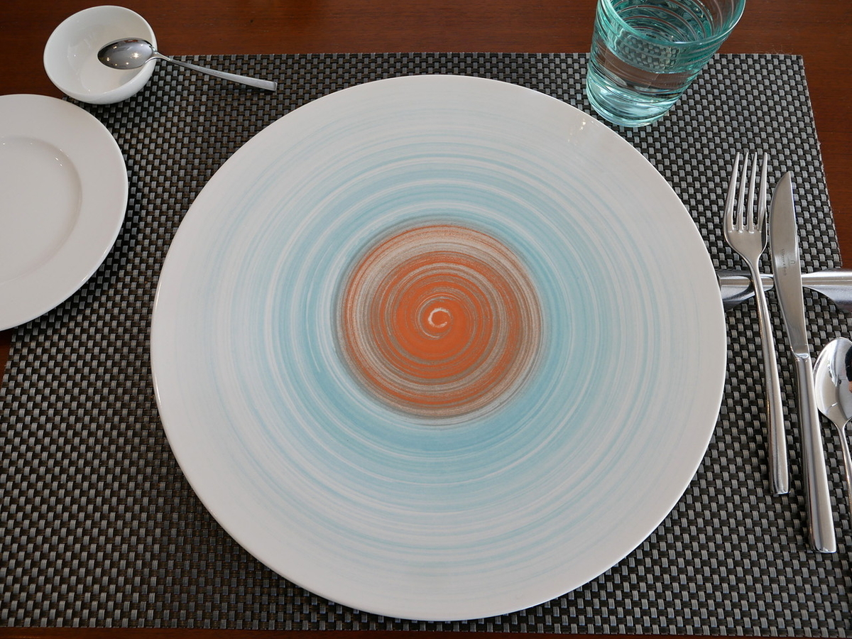 鎌倉 フレンチ ラヴィ 飾り皿