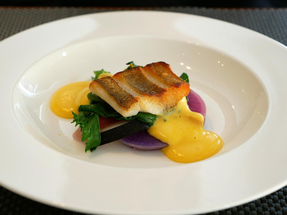 鎌倉 ラヴィ 魚料理