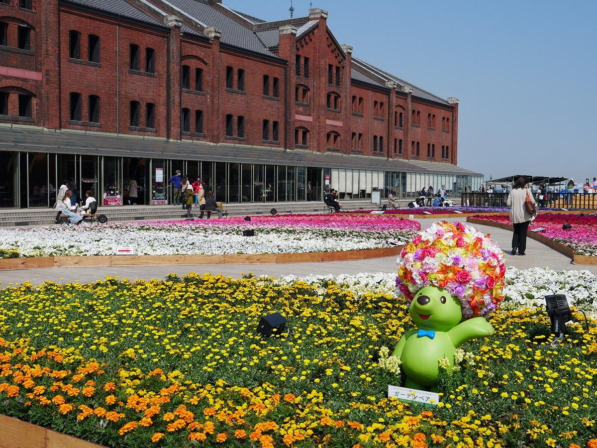 横浜赤レンガ倉庫 フラワーガーデン2021