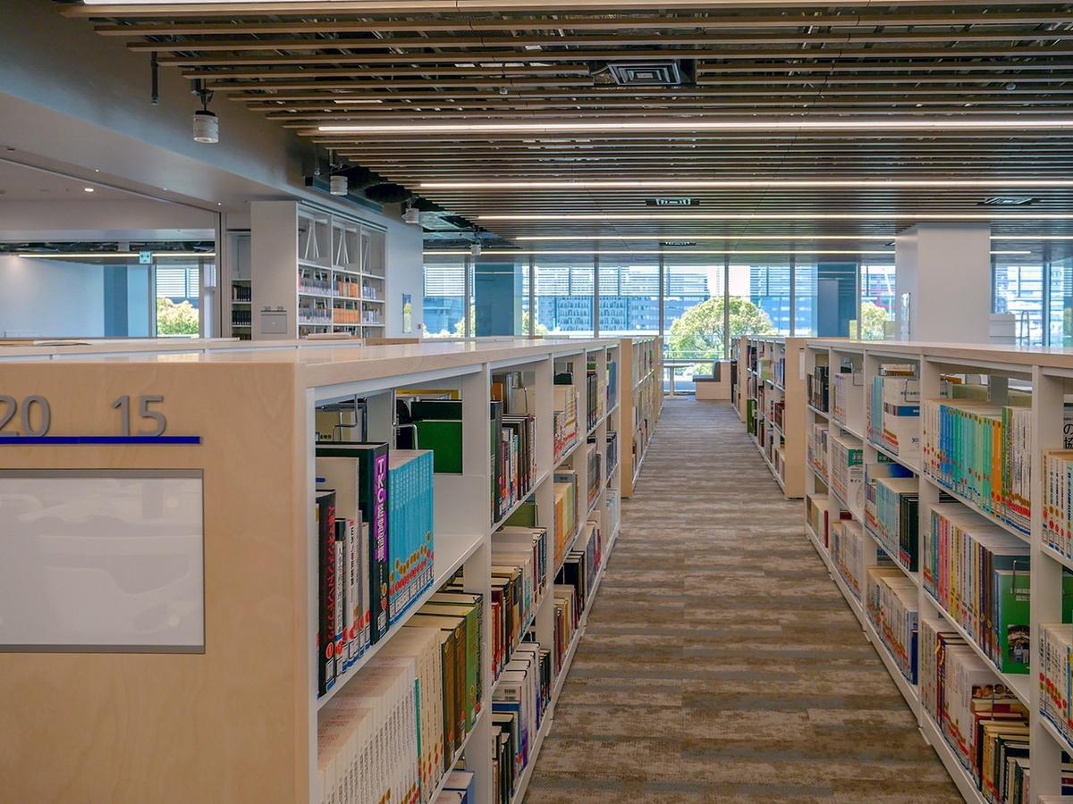 神奈川大学みなとみらいキャンパス 図書館