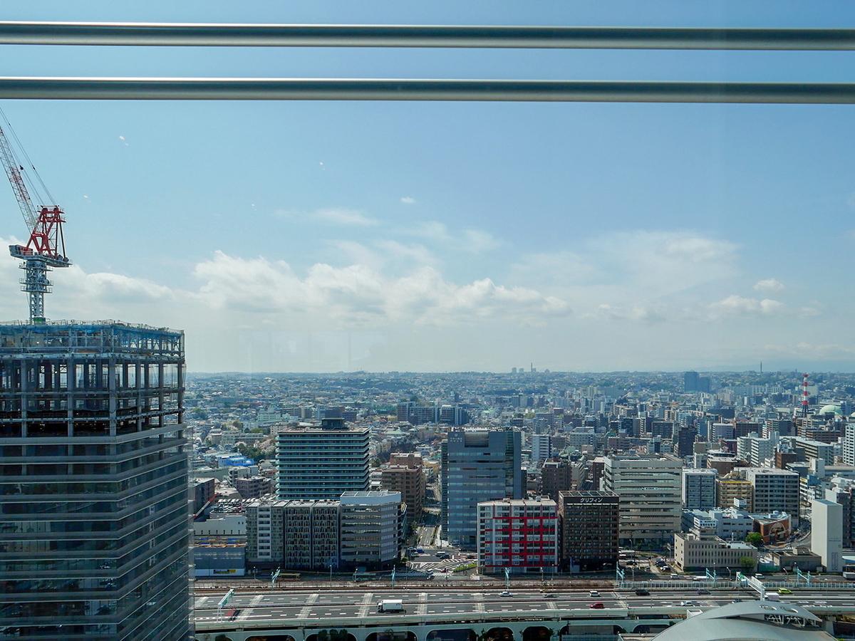 21階トップラウンジからの眺め