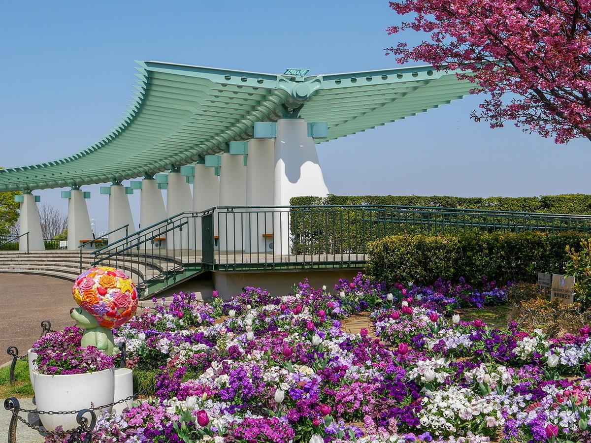 港の見える丘公園(2021年3月26日撮影)