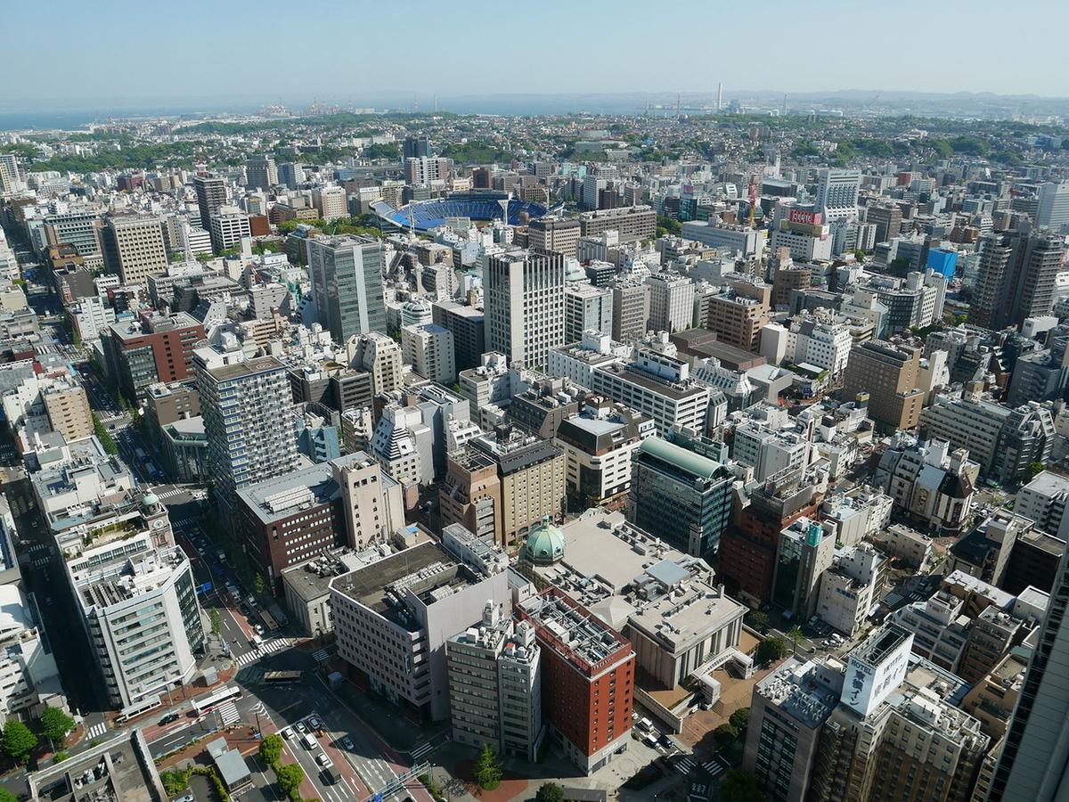 ザ タワー北仲 46階 オークウッドスイーツ横浜 ラウンジ