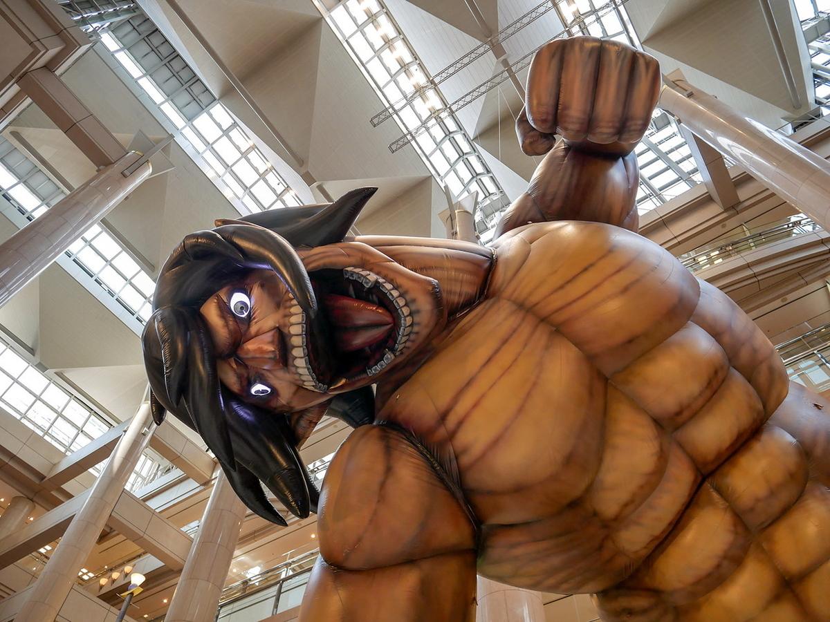 エレン巨人 バルーン