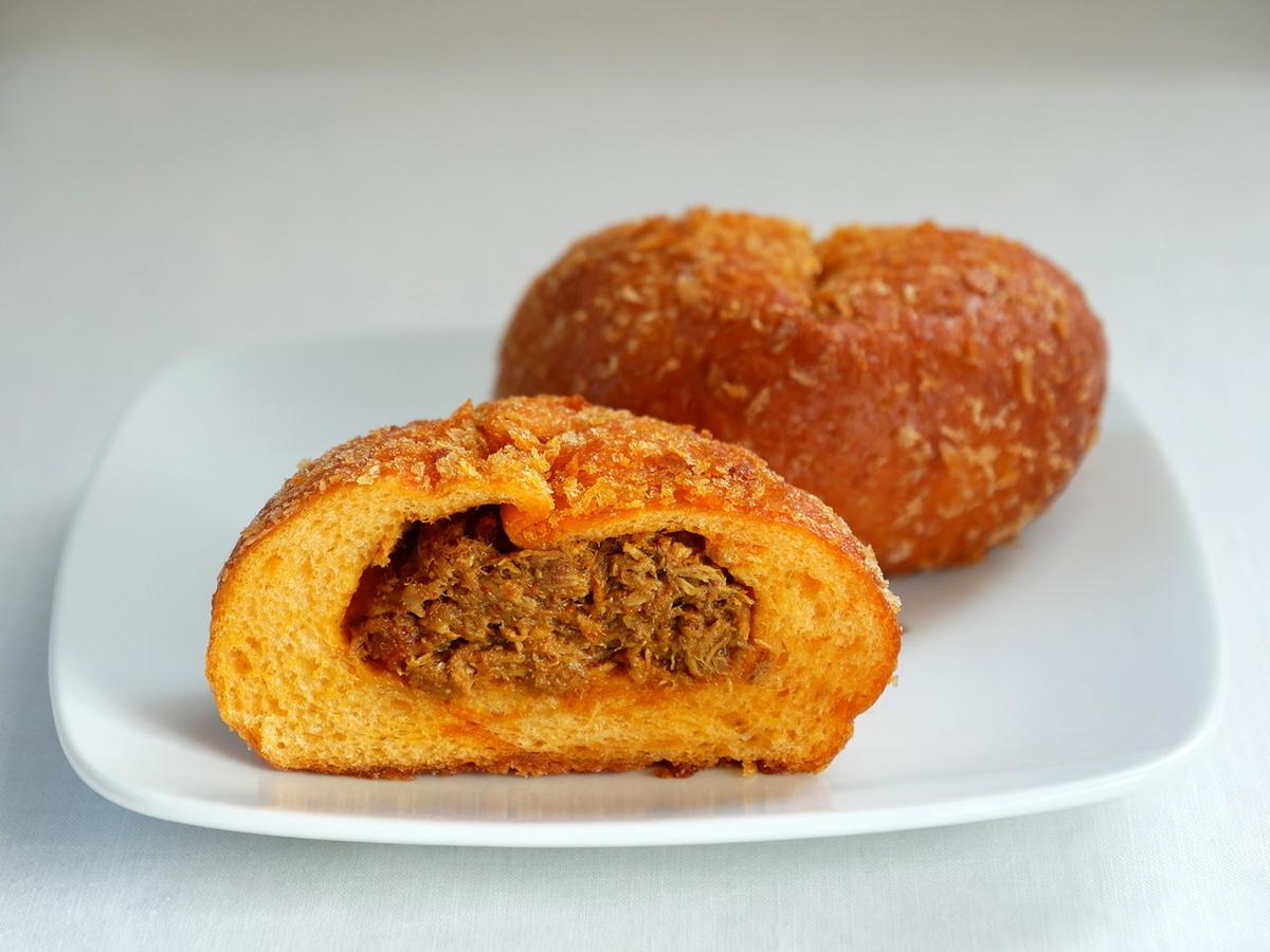 あいわパンの焼きカレーパン